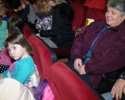 Božićna priredba DV Zeko u slatinskom kinu